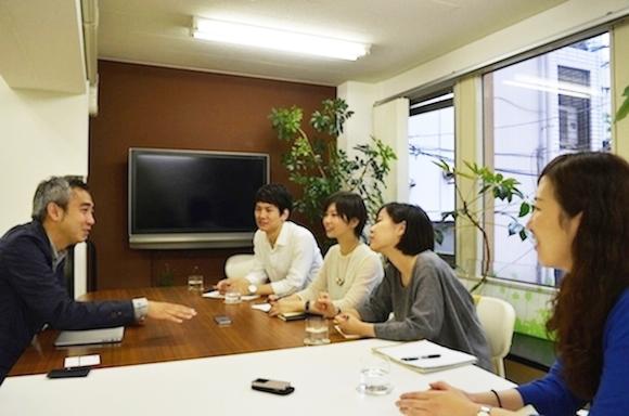 久山さんインタビュー風景