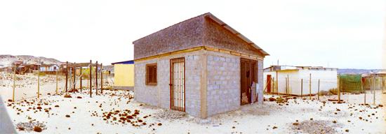 08美しい素材感を持つ小屋